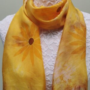 Sunflower small scarf.